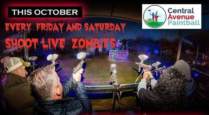 Halloween zombie flyer